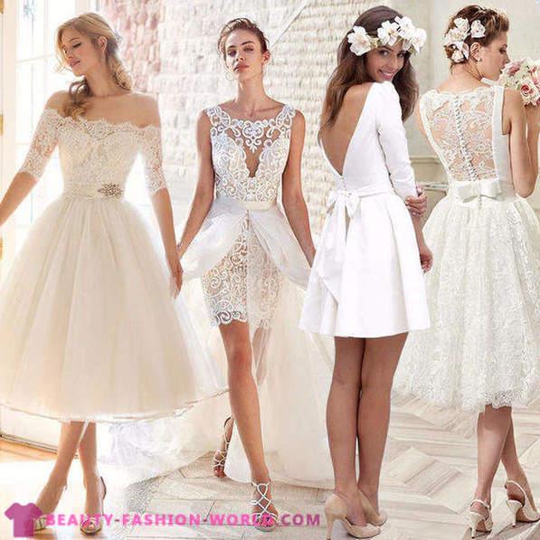 Kies Korte Trouwjurk Voor Mode Bruiden