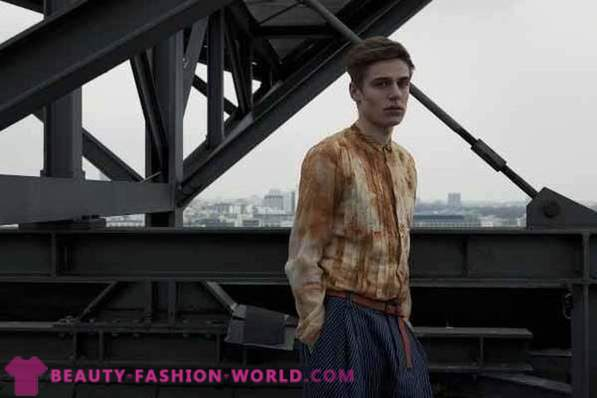 Menswear collectie in 2013 door Tim Labenda to Fall-Winter