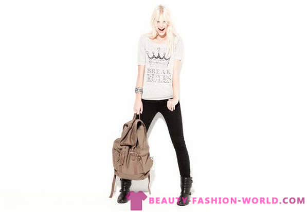 BSK door Bershka Lookbook september 2012